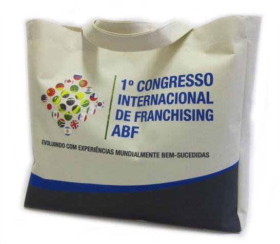 Fábrica de sacolas personalizadas sp