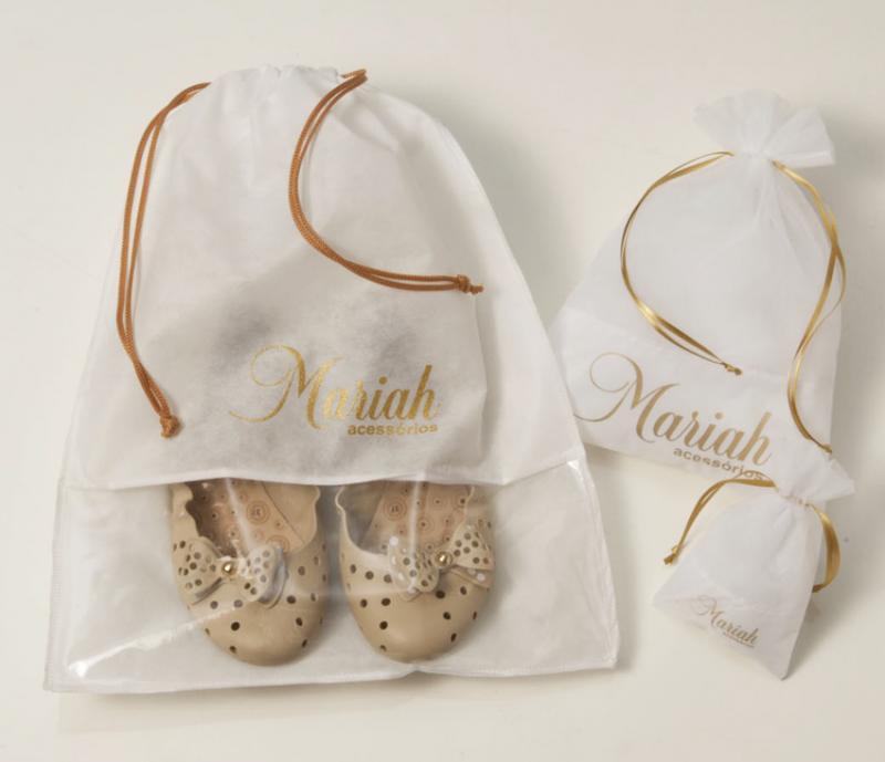 Sacolas de tnt personalizadas para sapatos