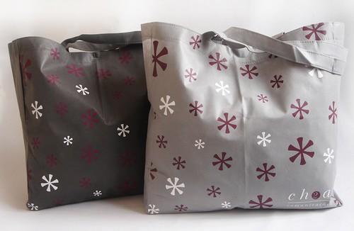 Sacos personalizados de tecido